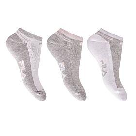 Fila Γυναικεία Αθλητική Κάλτσα Σοσόνι F6920 Γρκί-Λεύκο