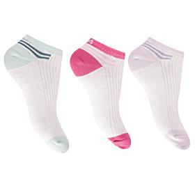 Fila Γυναικεία Αθλητική Κάλτσα Σοσόνι F6920 3τεμ Λεύκο