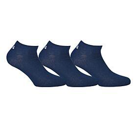 Fila Unisex Αθλητική Κάλτσα Σοσόνι F9100 Μπλέ 3τεμ