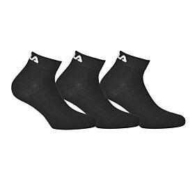 Fila Unisex Αθλητική Κάλτσα F9300 Μαύρο 3τεμ
