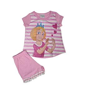 Galaxy Παιδική Πιτζάμα Κορίτσι Princess Ροζ