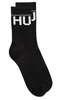 Hugo Boss Ανδρική Κάλτσα Σετ 2 Ζευγαριών Μαύρο