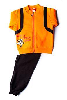 Joyce Βρεφική Φόρμα Σετ Αγόρι Joyce Spaceship 85403 Πορτοκαλί