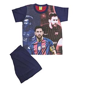 Like Παιδική Πιτζάμα Αγόρι Messi Μπορντό-Μπλε Μαρίν