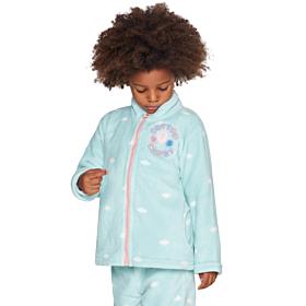 Muydemi Παιδική Fleece Ρόμπα Κορίτσι Cotton Candy Σιέλ