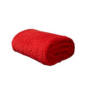 Nima Home Κουβέρτα Manta Μονή 150*220cm Κόκκινο