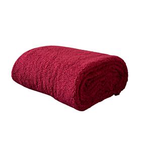 Nima Home Κουβέρτα Manta Μονή 150*220cm Μπορντό
