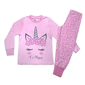 Pretty Baby Παιδική Πιτζάμα Κορίτσι Magical Ροζ Animal
