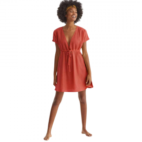 Promise Γυναικείο Φόρεμα Κεραμιδί