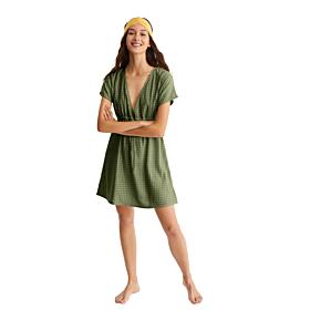Promise Γυναικείο Φόρεμα Χακί