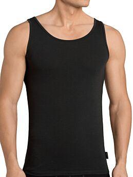 Sloggi Men 24/7 SH02 Vest 2P Αντρική Φανέλα Με Τιράντα Μαύρο 2τεμ
