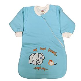 Tender Βρεφικός Υπνόσακος Κλειστός Αγόρι Ελέφαντας Τιρκουάζ