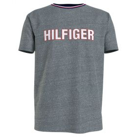 Tommy Hilfiger Lounge Graphic T-Shirt Γκρί