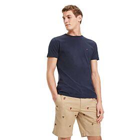 Tommy Hilfiger T-Shirt Cotton Μπλέ
