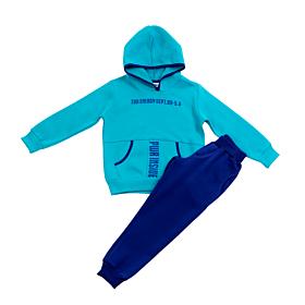 Trax Παιδική Φόρμα Σετ Αγόρι Energy Dept Τιρκουάζ-Μπλε Ρουά